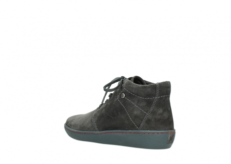 wolky lace up shoes 08126 babylon 40210 anthracite suede_4