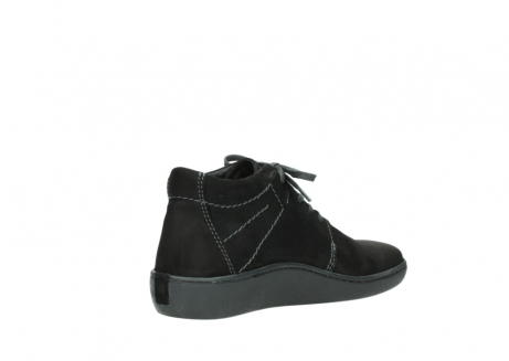 wolky lace up shoes 08126 babylon 50000 black oiled nubuck_10