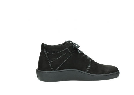 wolky lace up shoes 08126 babylon 50000 black oiled nubuck_12