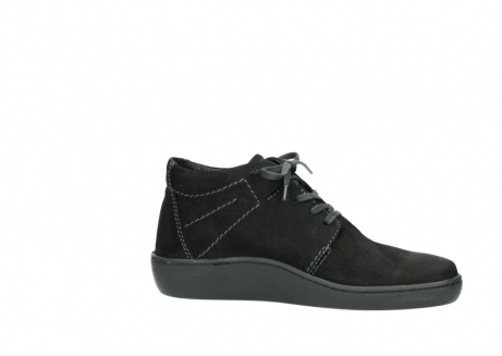 wolky chaussures a lacets 08126 babylon 50000 nubuck noir_14