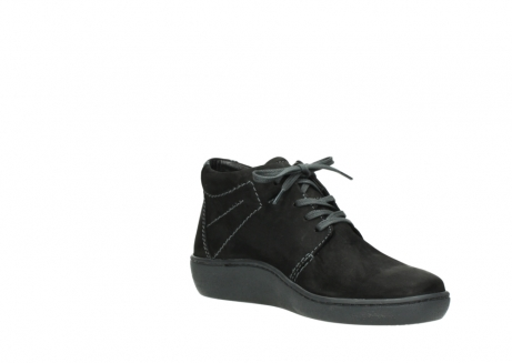 wolky chaussures a lacets 08126 babylon 50000 nubuck noir_16