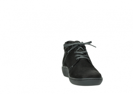 wolky lace up shoes 08126 babylon 50000 black oiled nubuck_18