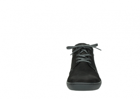 wolky lace up shoes 08126 babylon 50000 black oiled nubuck_19