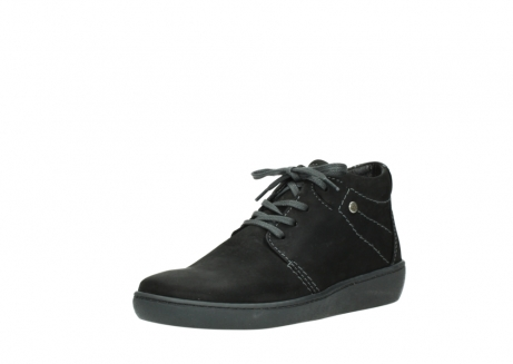 wolky lace up shoes 08126 babylon 50000 black oiled nubuck_22
