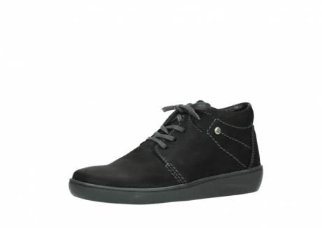 wolky lace up shoes 08126 babylon 50000 black oiled nubuck_23