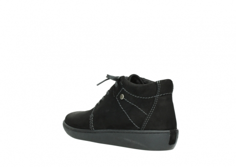 wolky lace up shoes 08126 babylon 50000 black oiled nubuck_4