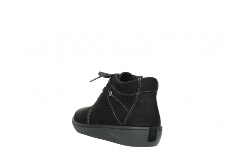 wolky lace up shoes 08126 babylon 50000 black oiled nubuck_5