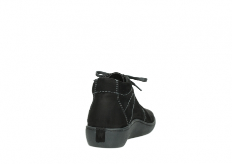 wolky lace up shoes 08126 babylon 50000 black oiled nubuck_8