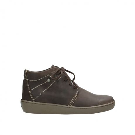 wolky chaussures a lacets 08126 babylon 50300 nubuck marron