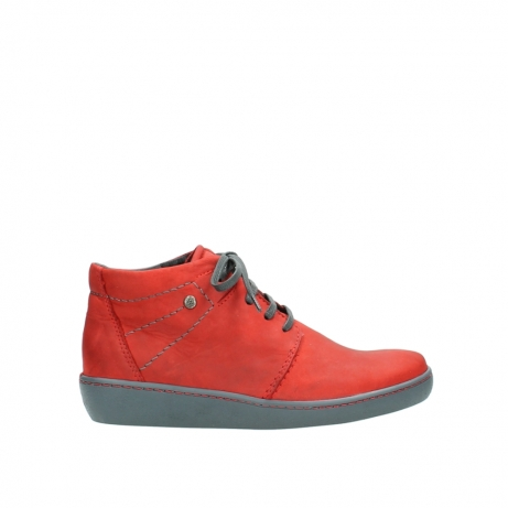 wolky lace up shoes 08126 babylon 50500 red oiled nubuck