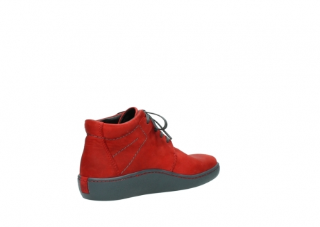 wolky lace up shoes 08126 babylon 50500 red oiled nubuck_10
