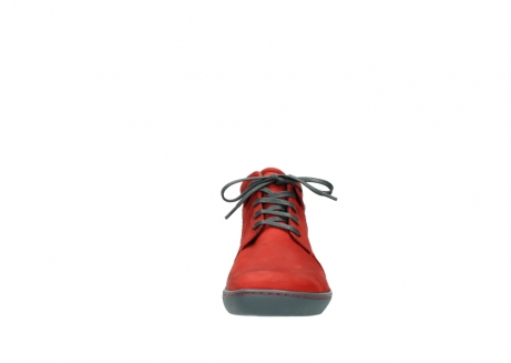 wolky lace up shoes 08126 babylon 50500 red oiled nubuck_19