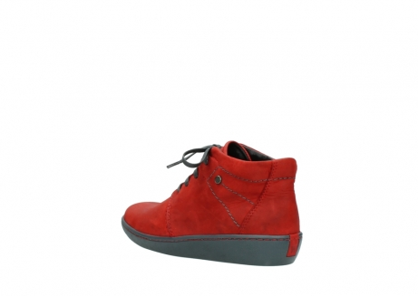 wolky lace up shoes 08126 babylon 50500 red oiled nubuck_4