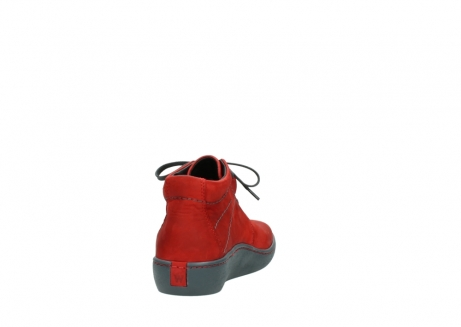 wolky lace up shoes 08126 babylon 50500 red oiled nubuck_8