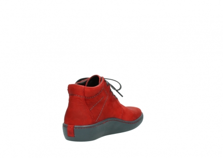 wolky lace up shoes 08126 babylon 50500 red oiled nubuck_9