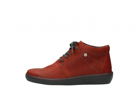 wolky lace up shoes 08126 babylon 50540 winter red oiled leather_1