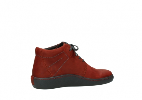wolky lace up shoes 08126 babylon 50540 winter red oiled leather_11
