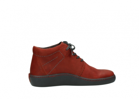 wolky lace up shoes 08126 babylon 50540 winter red oiled leather_12