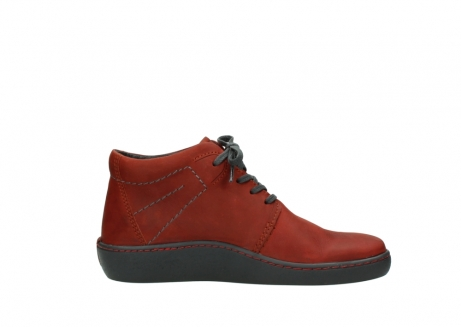 wolky lace up shoes 08126 babylon 50540 winter red oiled leather_13