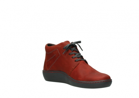 wolky lace up shoes 08126 babylon 50540 winter red oiled leather_16