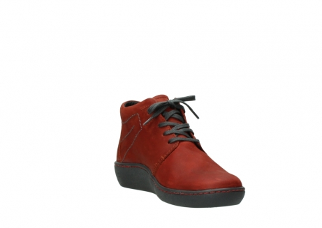 wolky lace up shoes 08126 babylon 50540 winter red oiled leather_17