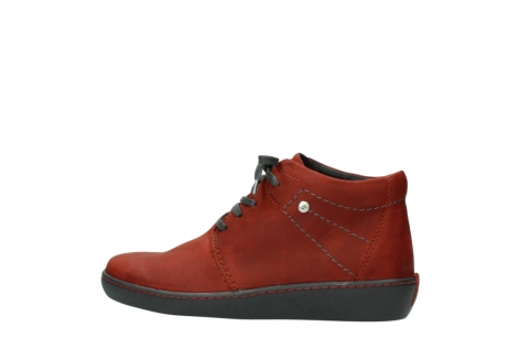 wolky lace up shoes 08126 babylon 50540 winter red oiled leather_2