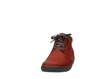 wolky lace up shoes 08126 babylon 50540 winter red oiled leather_20