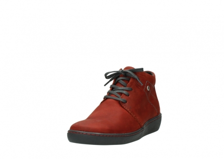 wolky lace up shoes 08126 babylon 50540 winter red oiled leather_21