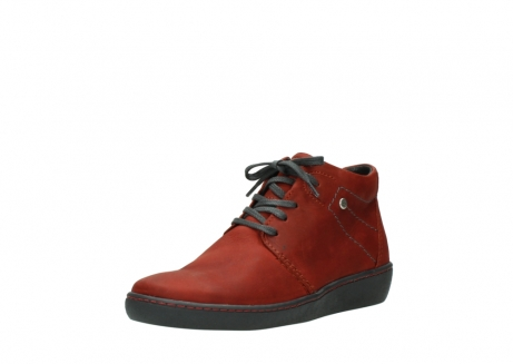 wolky lace up shoes 08126 babylon 50540 winter red oiled leather_22