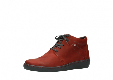 wolky lace up shoes 08126 babylon 50540 winter red oiled leather_23