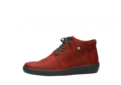 wolky lace up shoes 08126 babylon 50540 winter red oiled leather_24