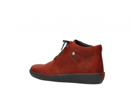 wolky lace up shoes 08126 babylon 50540 winter red oiled leather_3