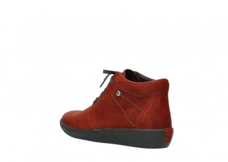 wolky lace up shoes 08126 babylon 50540 winter red oiled leather_4