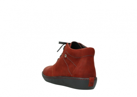 wolky lace up shoes 08126 babylon 50540 winter red oiled leather_5