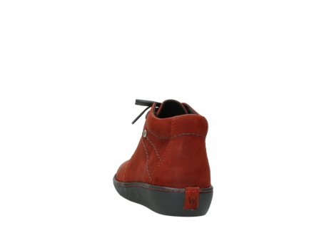 wolky lace up shoes 08126 babylon 50540 winter red oiled leather_6