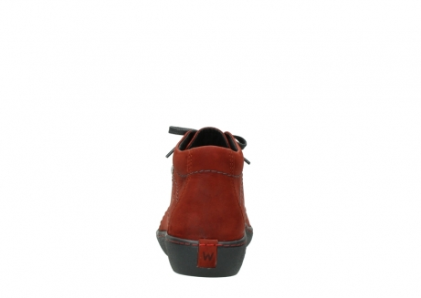 wolky lace up shoes 08126 babylon 50540 winter red oiled leather_7