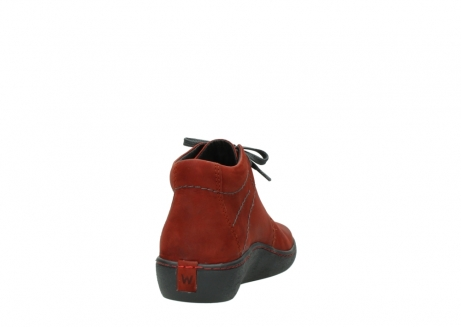 wolky lace up shoes 08126 babylon 50540 winter red oiled leather_8