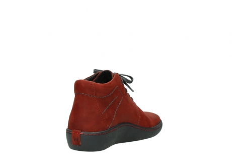 wolky lace up shoes 08126 babylon 50540 winter red oiled leather_9