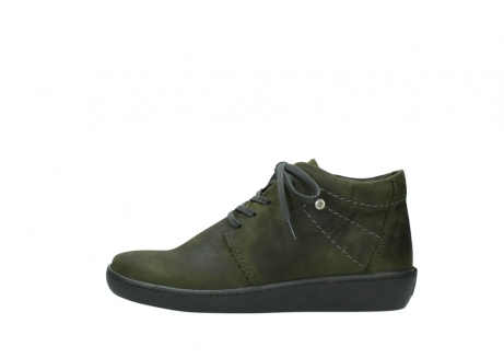 wolky lace up shoes 08126 babylon 50730 forest green oiled leather_1