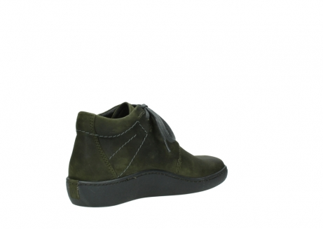 wolky lace up shoes 08126 babylon 50730 forest green oiled leather_10
