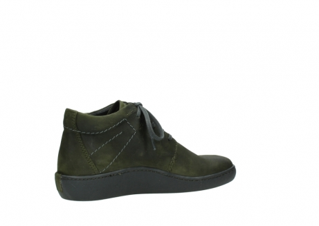 wolky lace up shoes 08126 babylon 50730 forest green oiled leather_11