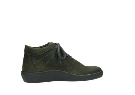 wolky lace up shoes 08126 babylon 50730 forest green oiled leather_12