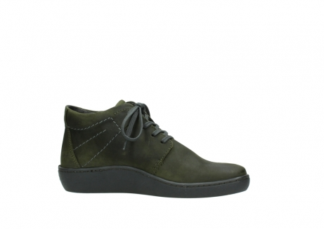 wolky lace up shoes 08126 babylon 50730 forest green oiled leather_14