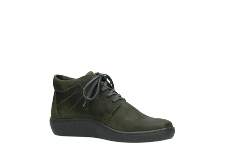 wolky lace up shoes 08126 babylon 50730 forest green oiled leather_15
