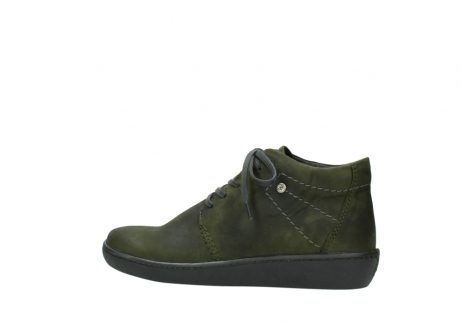 wolky lace up shoes 08126 babylon 50730 forest green oiled leather_2