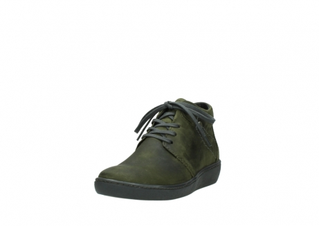 wolky lace up shoes 08126 babylon 50730 forest green oiled leather_21