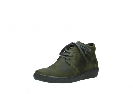 wolky lace up shoes 08126 babylon 50730 forest green oiled leather_22