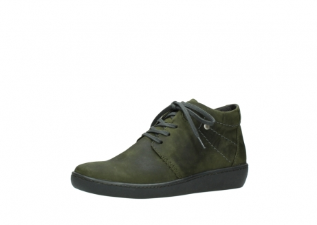 wolky lace up shoes 08126 babylon 50730 forest green oiled leather_23
