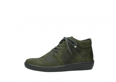 wolky lace up shoes 08126 babylon 50730 forest green oiled leather_24