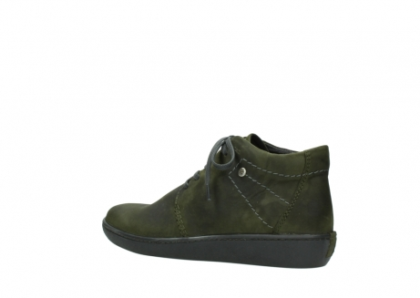 wolky lace up shoes 08126 babylon 50730 forest green oiled leather_3
